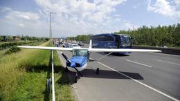Repülő az autópályán?
