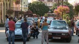 Oldtimer autók lepték el a belvárost