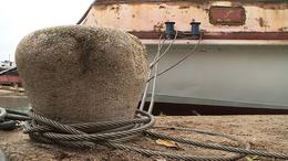 Újabb hajó szépül meg a magyar tengernél