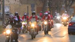 Motoros Mikulások lepték el Kaposvárt