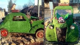 """Ennél """"zöldebb"""" autót még nem látott"""