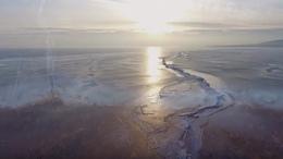 Nézze meg idén még utoljára a jégbe fagyott Balatont