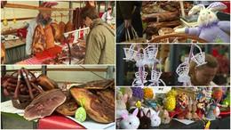 Húsvéti készülődés a piacon