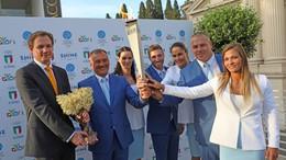 Kaposvárra érkezik az európai olimpiai láng