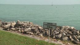 A Balaton vize csaknem 30 fokig melegedett