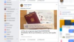 Rohamosan terjed a Wizz Air átverés Facebookon