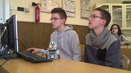Robotok a suliban