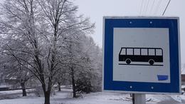A közlekedést hóátfúvások nehezítik, a távolsági buszok pár percet késnek