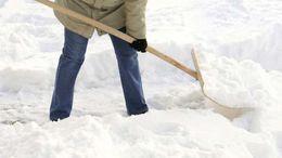 Kaposváron mintegy 10 centi hó hullott idáig