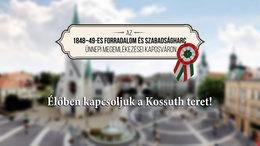 Kövesse élőben a kaposvári ünnepséget!
