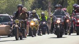Ötödször is felvonulással nyitották a szezont a motorosok
