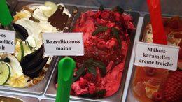 Bazsalikomos málna az év fagylaltja
