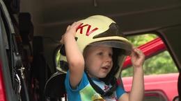 Egy napra a legkisebbek is tűzoltók lehettek