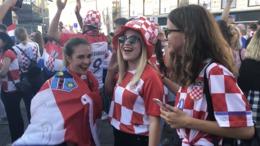 Így ünnepelték a horvátok a vb-ezüstérmet!