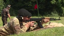 Éles lőszerekkel gyakorlatoztak a fiatal tartalékosok