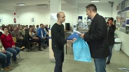 Leghűségesebb dolgozóit díjazta a kaposvári Videoton