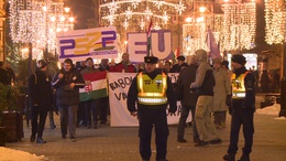 Tüntetést szerveztek Kaposváron