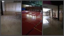 Víz árasztotta el a Gárdonyi iskolát