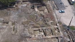 Befejeződtek a kaposvári várnál végzett feltárások