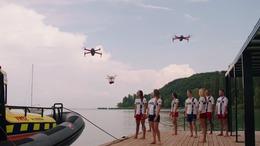 Drónok vigyáznak majd a balatoni nyaralókra