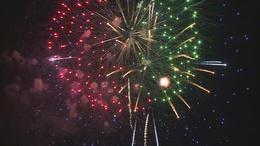 Ilyen volt a tűzijáték Kaposváron