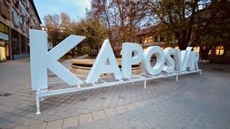 Ismét összeállt a Kaposvár felirat
