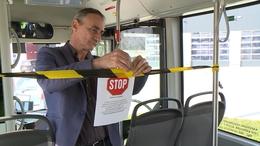 Így védekeznek a kaposvári buszokon
