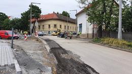 Lezárják a Béla király utca cukorgyár előtti szakaszát