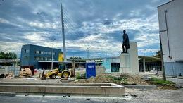 Jó ütemben halad a Kaposvári Közlekedési Központ kivitelezése