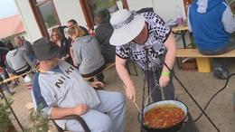A rossz idő és a vírushelyzet se szabott gátat a zselici főzőversenynek