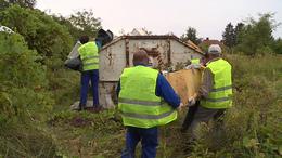Újabb illegális hulladéklerakót számol fel Kaposvár