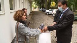 Adományokat osztott a Videoton