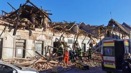 Horvátországi földrengés: Somogyból is segítenek