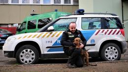 Nyugdíjba ment Ropi, a rendőrkutya