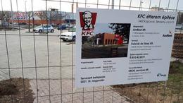Már épül a kaposvári KFC