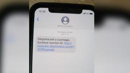 Csomagküldős SMS-ekkel próbálják kicsalni adatainkat