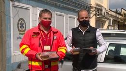 Meglepetés a mentősöknek