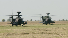 Az amerikai hadsereg helikopterei szálltak le Kaposújlakon