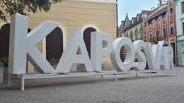 Újra kikerült a belvárosba a Kaposvár felirat