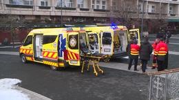 Két új mentőautót kapott a kaposvári mentőállomás