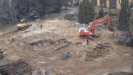 Építkezés miatt kér türelmet a kórház a betegektől