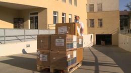 Újabb védőfelszerelések érkeztek a kaposvári kórházba