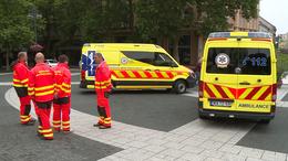 Újabb mentőautók érkeztek Kaposvárra