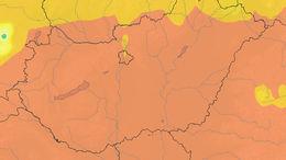 Másodfokú hőségriasztás: extrém magas UV-B sugárzás Somogyban