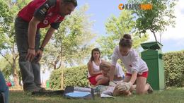 Újra kellett éleszteni egy kisfiút a Balatonon - videóval!