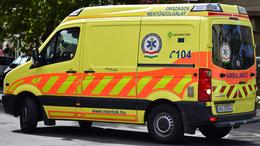 10-15 százalékkal több riasztás fut be a mentőkhöz ezekben a napokban