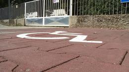 Több lehet a mozgássérült parkoló