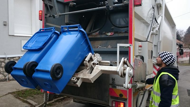 szelektív hulladékgyűjtés kuka