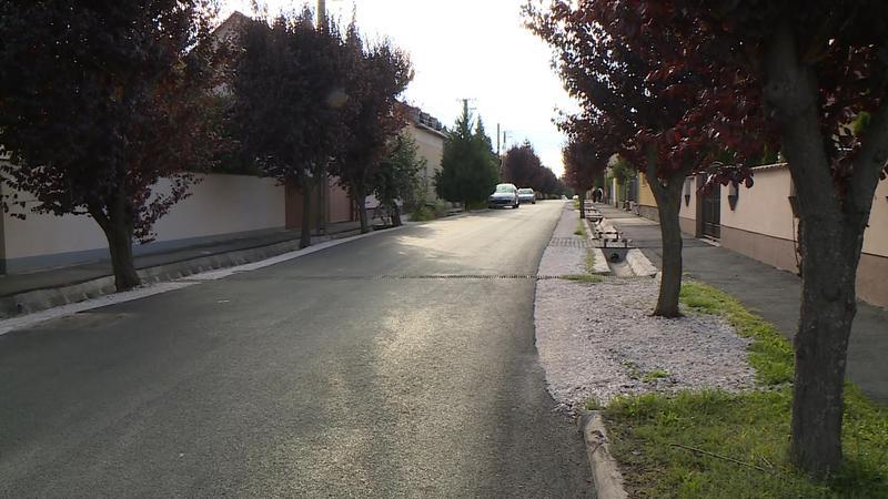 A Nagyszeben utcát is átadták ma