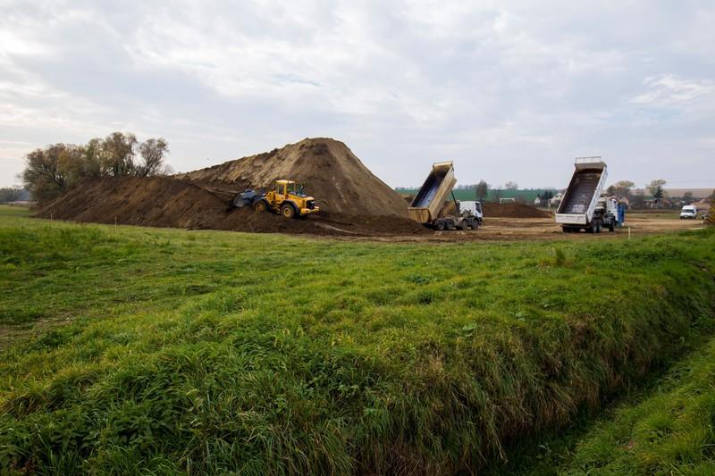 Az építkezés állapotáról az MTI közölt fotókat.